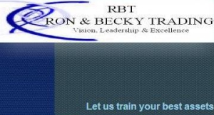 Ron & Becky Trading,  RBT Training logo